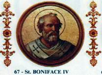 Pope Boniface IV Halloween