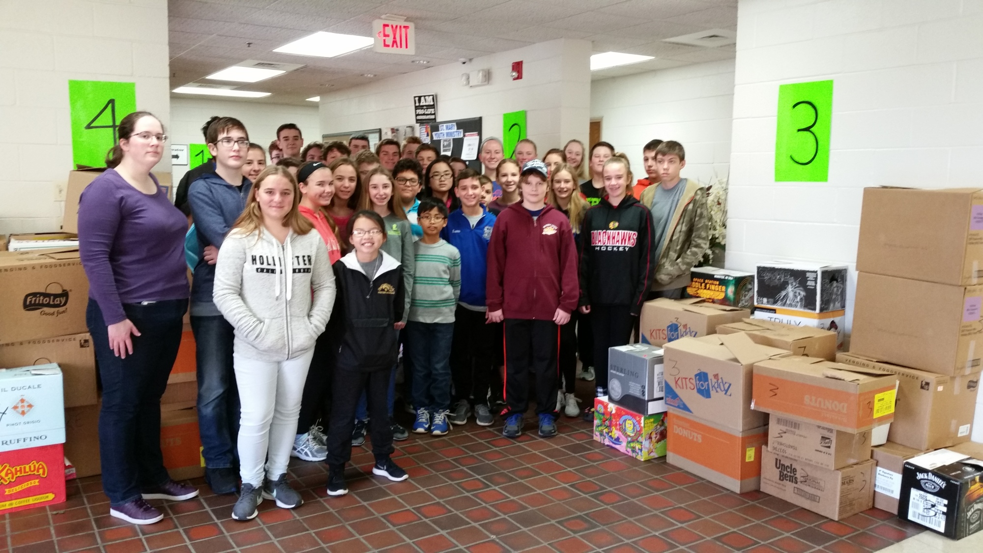 Saint Mary Thanksgiving Food Drive