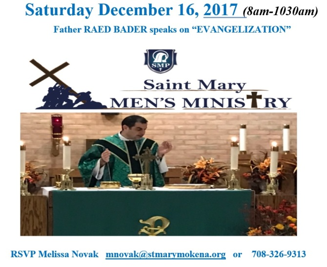 Saint Mary Mokena Men's Ministry