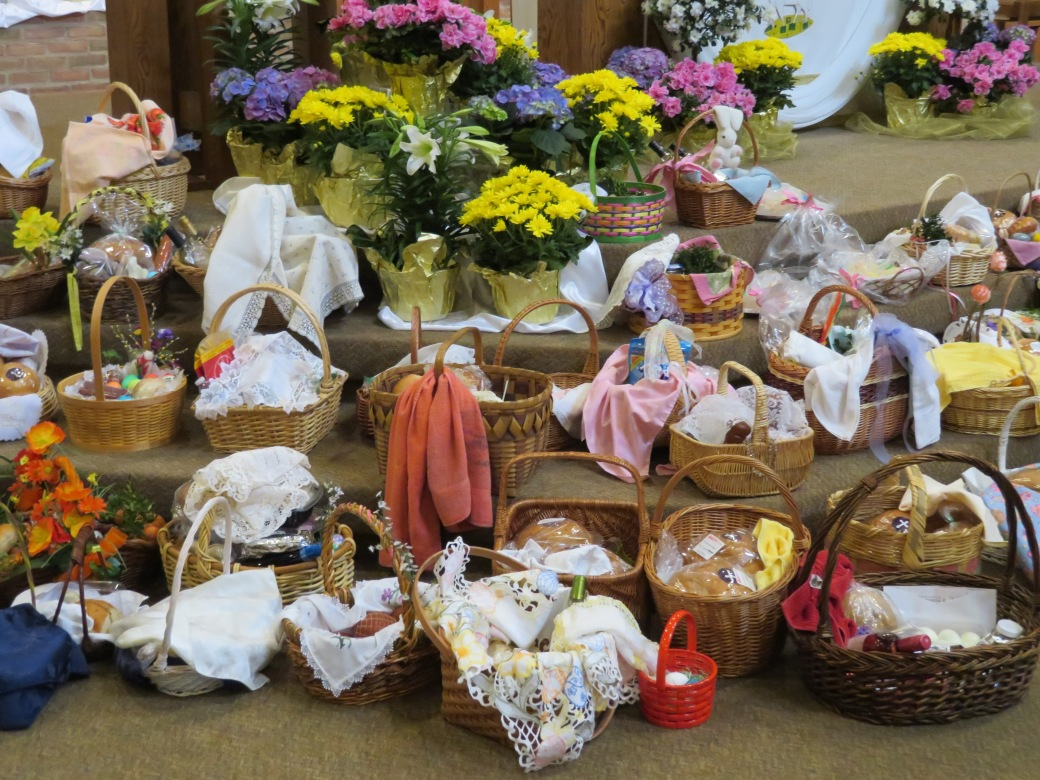 St. Mary Mokena Easter Basket Blessing