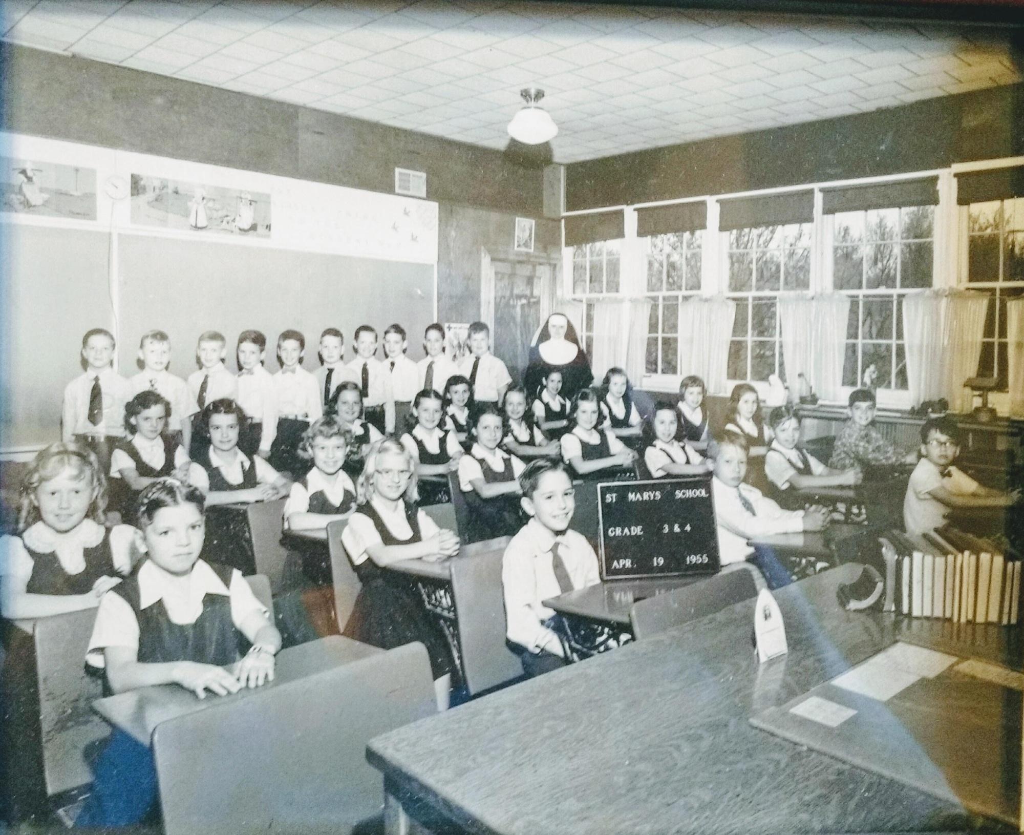 Saint Mary School Mokena 1955