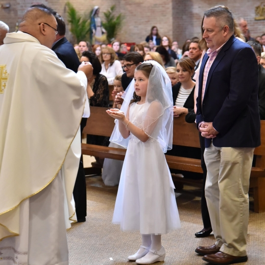 Saint Mary Mokena First Holy Communion