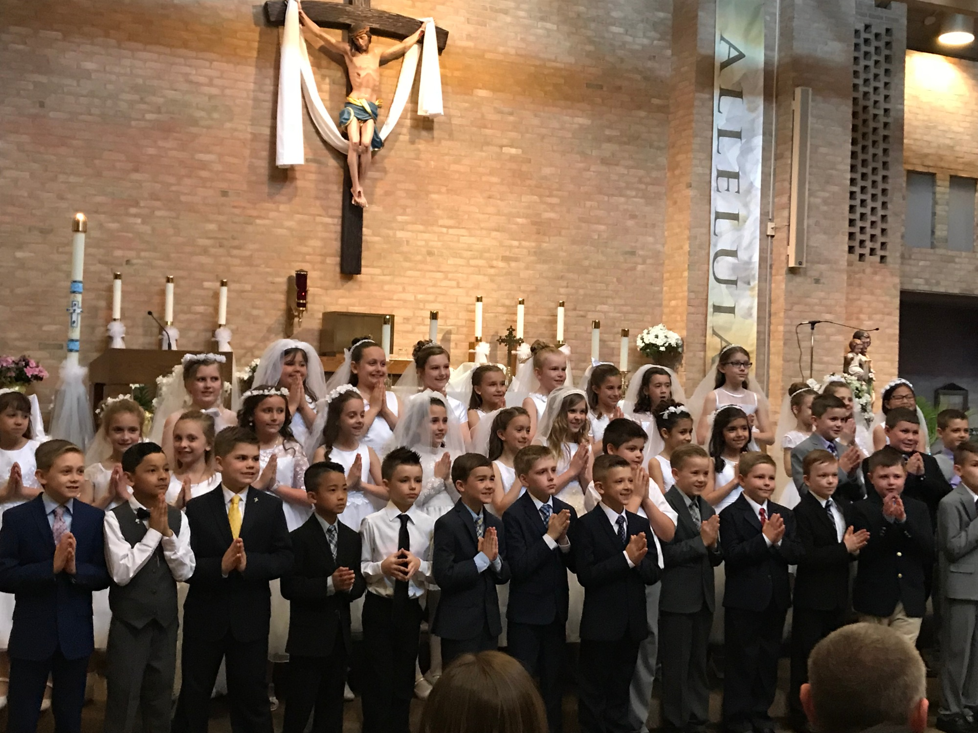 First Communion Saint Mary Mokena 2018