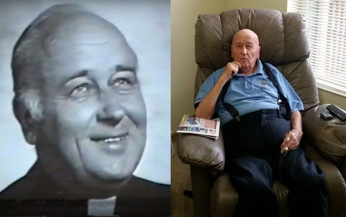 Father Vytas Memenas through the years