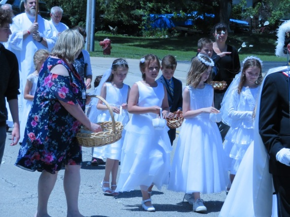 St. Mary Mokena First Communicants