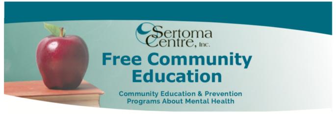 Sertoma suicide prevention