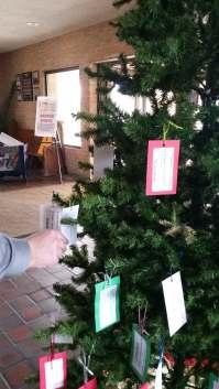 Saint Mary Giving Tree