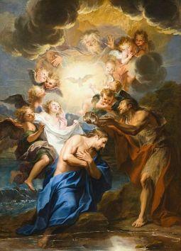 Christ's Baptism Painting