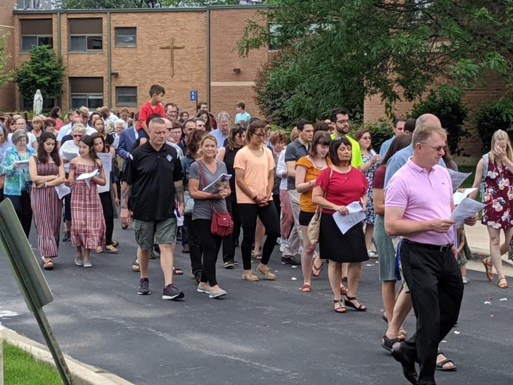 Corpus Christi Crowd