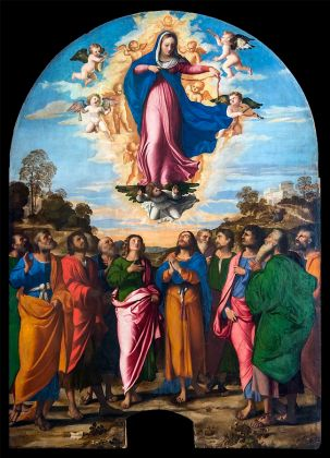 Palma Vecchio, Assumption of Mary