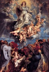 Assumption of Mary-Sir Pieter-Paul Rubens