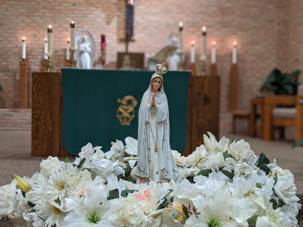 Statuette of Mary