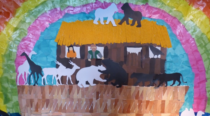 children bible painting