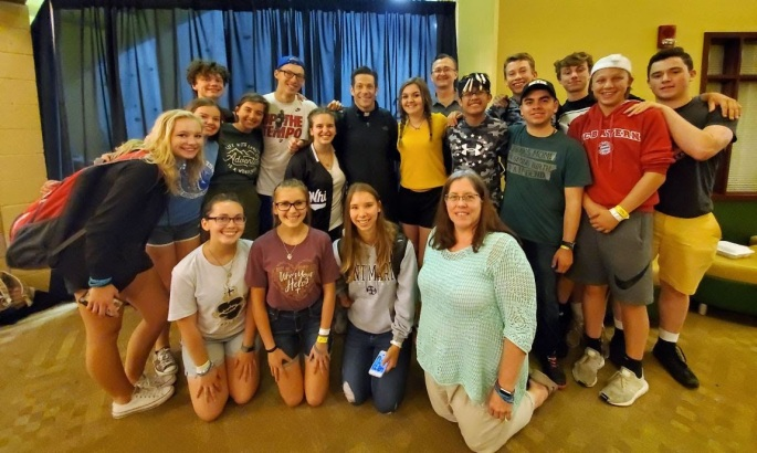 St. Mary Teens at Steubenville Youth Conference