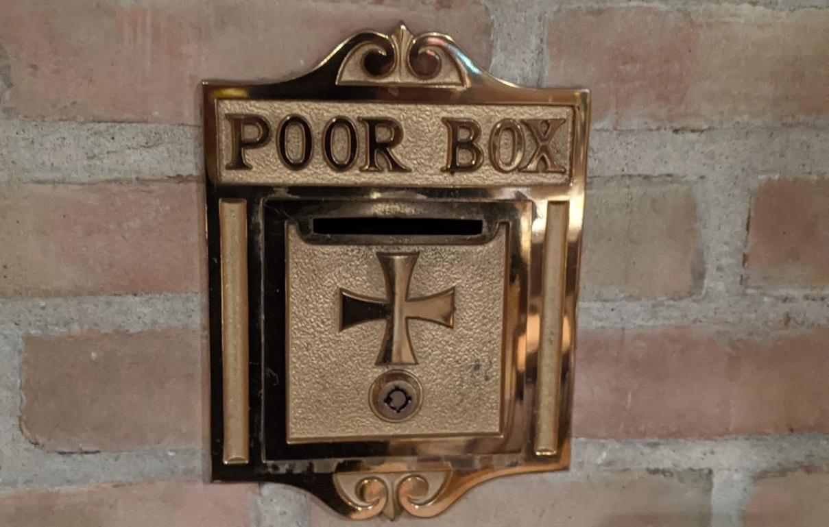 St. Mary Mokena Poor Box