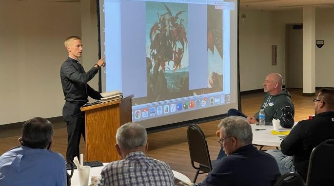 Father Mark Bernhard Talk