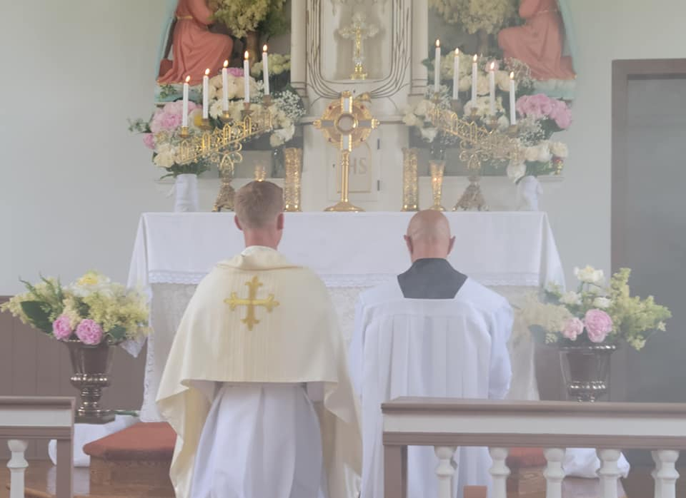 Adoration at the Old St. Mary Church