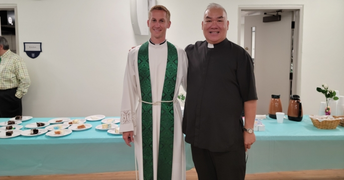 Father Dindo and Father Mark